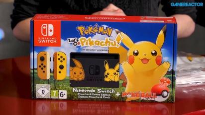 Pokémon: Let's Go Pikachu!/Let's Go Eevee! - Unboxing (Content Marketing)