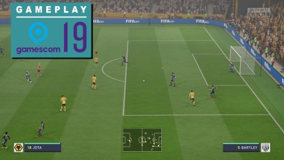 FIFA 20 - Gameplay Wolves vs. WBA