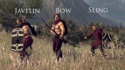 Total War: Rome II - Unit Spotlight: Ranged Units