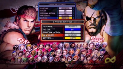 Ultra Street Fighter IV - Select Mode Trailer