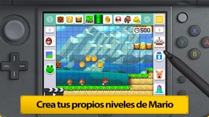 Super Mario Maker for Nintendo 3DS - Tráiler español de presentación