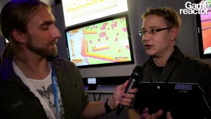 E3 12: Super Monkey Ball: Banana Splitz - Entrevista