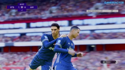 eFootball PES 2021 - Gameplay myClub partido online Arsenal vs Juve