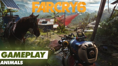 Far Cry 6 - Gameplay-repaso a sus animales