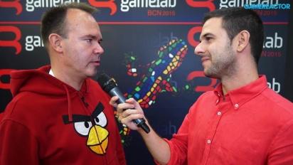 Angry Birds - Entrevista a Peter Vesterbacka en Gamelab 2015