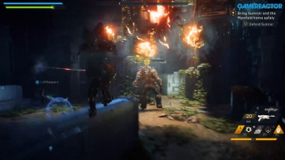 Anthem - Gameplay salvando a Matthias con la demo en PC