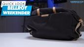 Bellroy Weekender - Quick Look