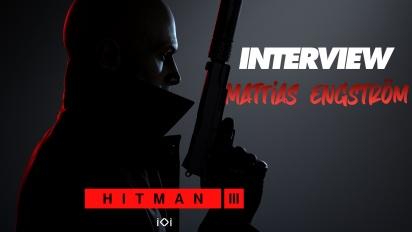 Hitman 3 - Entrevista a Mattias Engström en el especial PS5