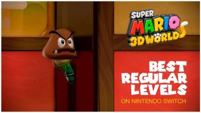 Super Mario 3D World - Top mejores niveles estándar en Nintendo Switch