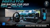 Acer Predator Sim Racing Cup - Predator Sim Racing Cup 2021 - Vídeo #1:  Modulando el acelerador y el freno