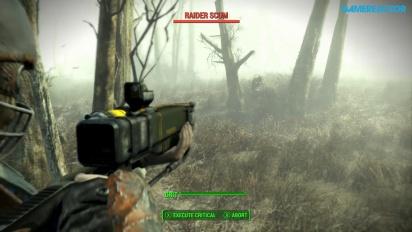 Fallout 4 - Gameplay Xbox One misión Explorar el Museo de Brujería