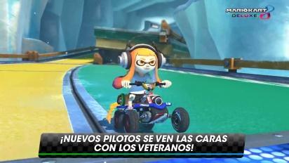 Mario Kart 8 Deluxe - Tráiler español de novedades