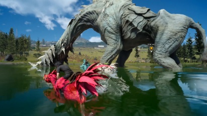 Final Fantasy XV: Windows Edition - Un paseo en Chocobo en Duscae