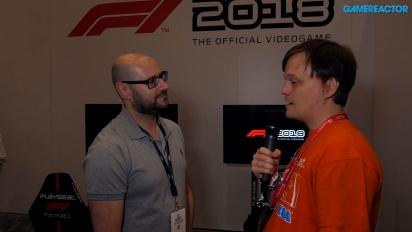 F1 2018 - Entrevista a Lee Mather