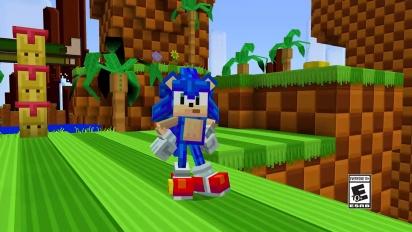 Minecraft x Sonic DLC: Official Trailer
