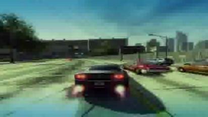 Burnout Paradise - Steel wheels trailer