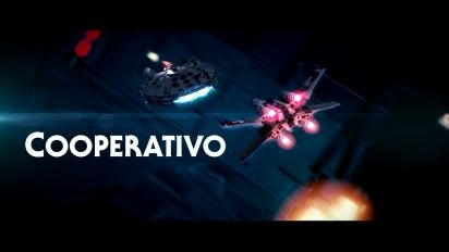 Lego Star Wars - Tráiler español Modo Cooperativo
