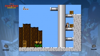 The Disney Afternoon Collection - Chip 'n' Dale Rescue Rangers gameplay