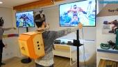 Nintendo Labo: Robot Kit - Gameplay y ajustando el traje del Toy-Con Robot