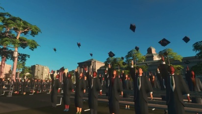 Cities: Skylines - Campus Expansion Trailer