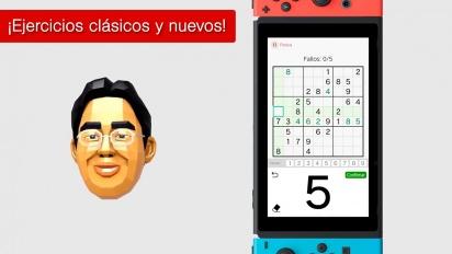 Brain Training del Dr. Kawashima para Nintendo Switch - Tráiler español