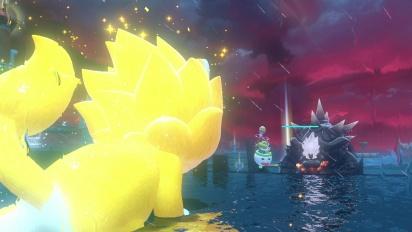 Bowser's Fury - Combate final, créditos y desbloqueando las skins felinas bonus de Bowsy y Mario