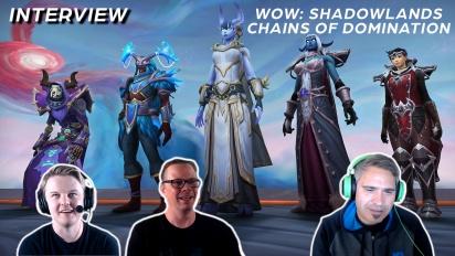 WoW Shadowlands: Cadenas de Dominación - Entrevista