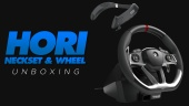 Unboxing Hori - Racing Wheel y Surround Sound Neckset