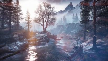 Horizon Zero Dawn: The Frozen Wilds - Tráiler de escenarios en español