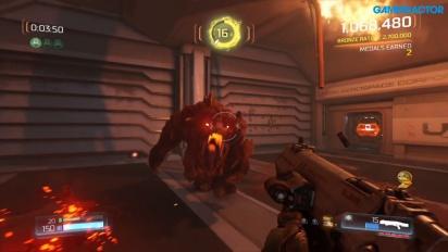 Doom - Gameplay de la versión 1.1.1 en Nintendo Switch