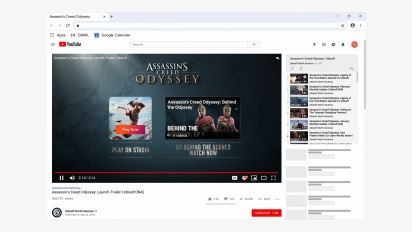Stadia - Demostración de Click to Play con Assassin's Creed Odyssey