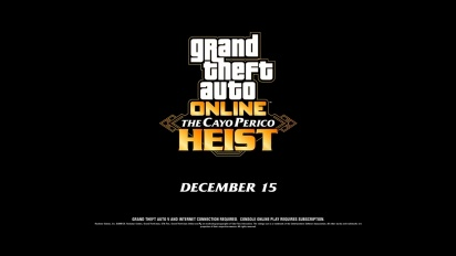Grand Theft Auto V - The Cayo Perico Heist Trailer
