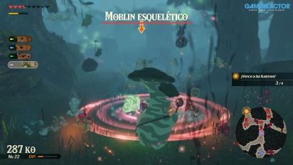 Hyrule Warriors: La era del cataclismo - Gameplay de Obab y la Espada Maestra