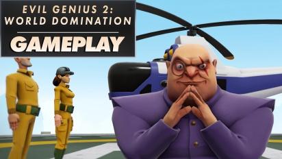 Evil Genius 2: World Domination - Gameplay con Maximilian