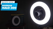 Wistream Halo 300 Ring Light - El Vistazo