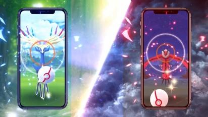 Yveltal y Xerneas en Pokémon Go - Tráiler Leyendas de Luminalia