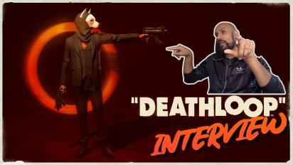 Deathloop - Entrevista con Dinga Bakaba