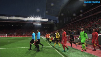 Pro Evolution Soccer 2017 - Gameplay Data Pack 2.0 en Anfield Liverpool vs Arsenal