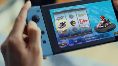 Nintendo Switch - Japanese TVCM 1: Mario Kart 8 Deluxe