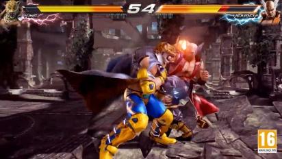 Tekken 7 - King vs Heihachi Character Gameplay