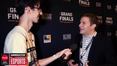 Overwatch League Finals - Jon Spector Interview