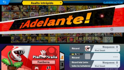 Super Smash Bros. Ultimate - En busca del bug de Planta Piraña
