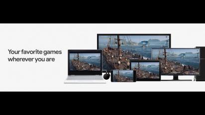 Stadia - Demostración de Multiscreen con Assassin's Creed Odyssey