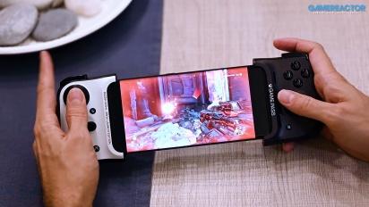 Probando el Juego en la nube de Xbox con un Samsung Galaxy Note20 Ultra 5G y Razer Kishi para Android