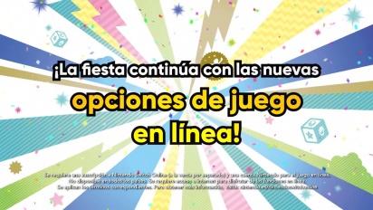Super Mario Party - Tráiler Actualización Juego Online