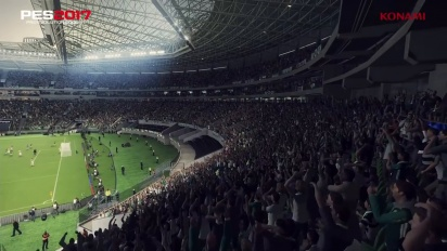 Pro Evolution Soccer 2017 - Palmeiras Allianz Parque Data Pack 2.0 Trailer