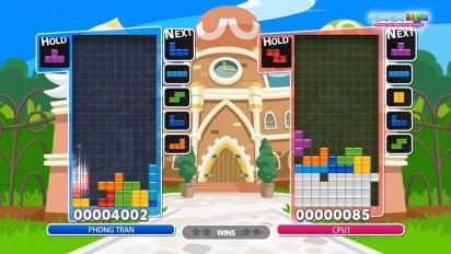 Puyo Puyo Tetris - Tutorial Configuraciones T-Spin