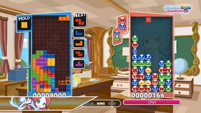 Puyo Puyo Tetris - Tutorial Combos