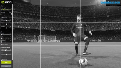 PES 2018 - Tutorial de toma de capturas con Nvidia Ansel en PC