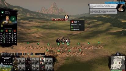 Total War: Three Kingdoms - Gameplay del modo campaña